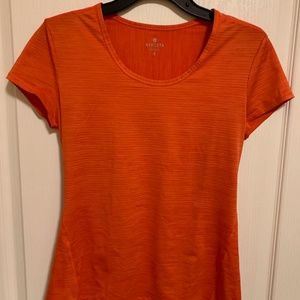 Athleta Orange Short Sleeve Shirt